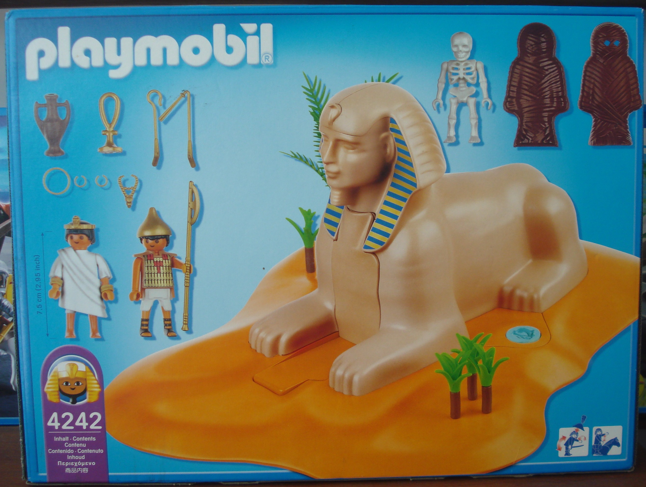 Clearance Sale Playmobil 4242 Sphinx With Mummy The